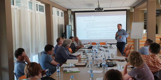 """Projekta """"Videi draudzīgo (zaļās) apmācību izstrāde būvniecības nozares speciālistiem"""" partneru tikšanās Daugavpilī, 25.-27.jūnijā"""